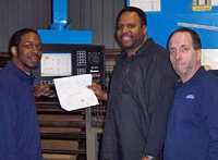 Some of the Aluminum Supply Co.  staff